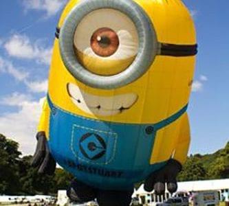 Stuart the minion balloon
