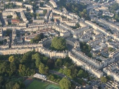Bath from the Sky