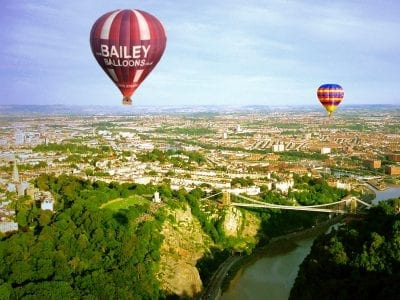 Clifton Suspension Bridge, Bailey Balloons