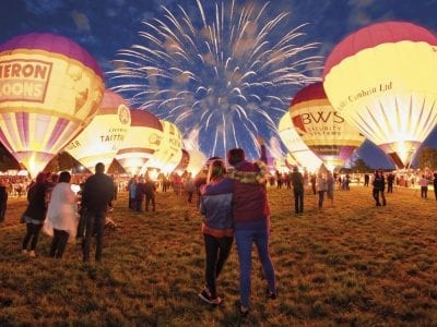 Night Glow, Bristol Balloon Fiesta