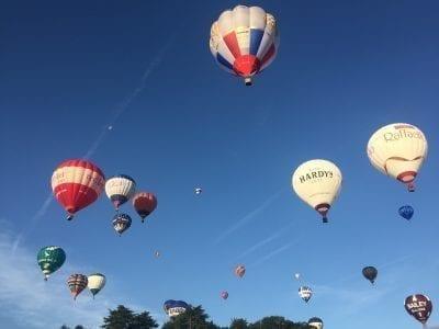 Bristol Balloon Fiesta Bailey Balloons