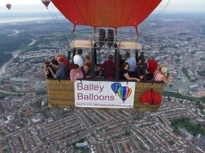 Balloon Flight Over Bristol