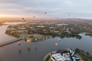 Ballooning In Canberra - photo credit balloonsaloftcanberra.com.au