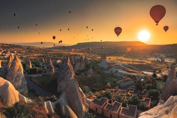 Cappadocia in Turkey - photo credit viator.com