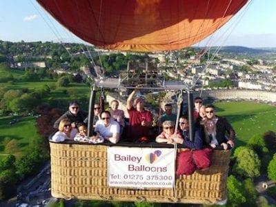 air balloon experience