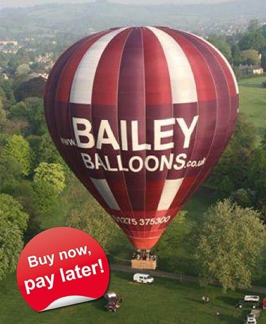 Hot Air Balloon Ride with Bailey Balloons